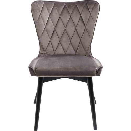 Chair Black Marshall Velvet: different colors available