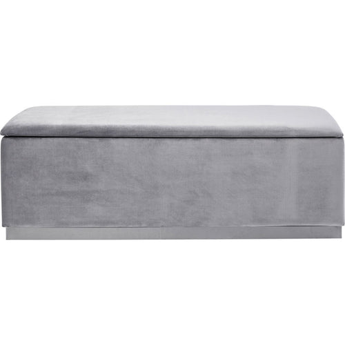Bench Cherry Storage Grey
