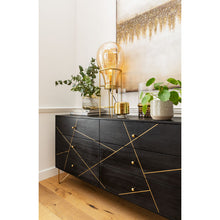 Load image into Gallery viewer, Sideboard Gold Vein