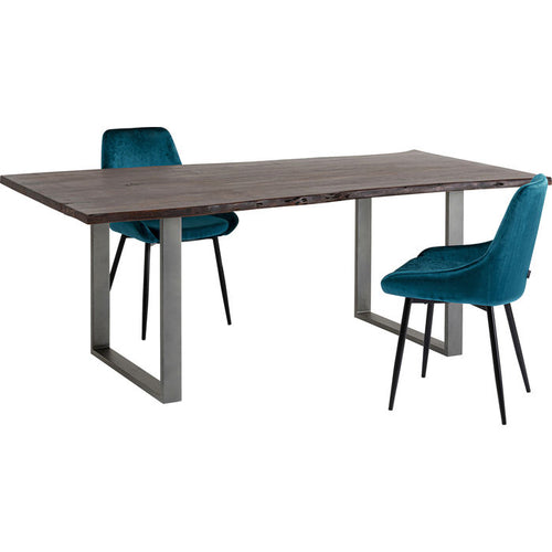 Table Harmony Dark Crude Steel: different sizes available