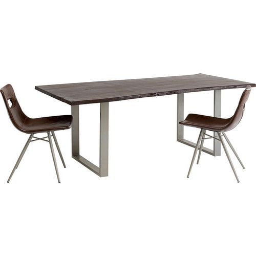 Table Harmony Dark Argent: différentes tailles disponibles