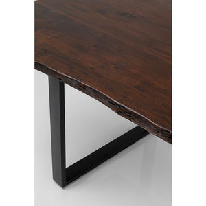 Table Harmony Dark Black: different sizes available