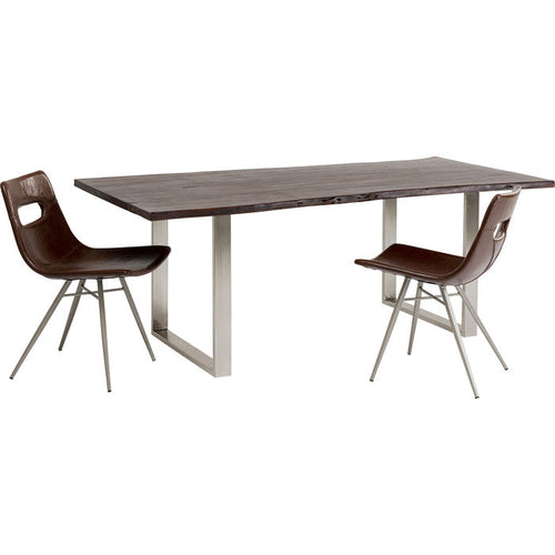 Table Harmony Dark Chrome: different sizes available