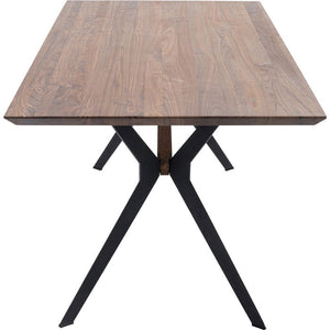 Table Downtown Walnut 180x90cm