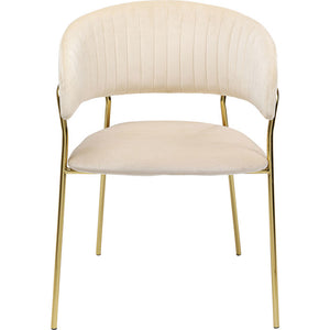 Set of 2 Chairs with Armrest Belle