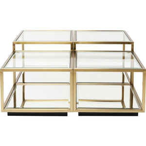 Coffee Table Luigi Gold (4/Set)