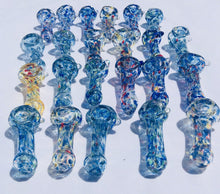 "Load image into Gallery viewer, 3"" Collectible Glass Dry Herb Candy Crush Pipes. Buy 2 Get 1 Free Smoking Pipe"
