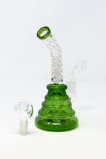 "7"" Twisted Shower Bend Dab Rig"