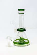 "8"" Glass Dab Rig w/ Cycle Matrix Percolator"