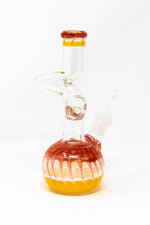 "8"" Glass Red/Yellow Designer Zong"
