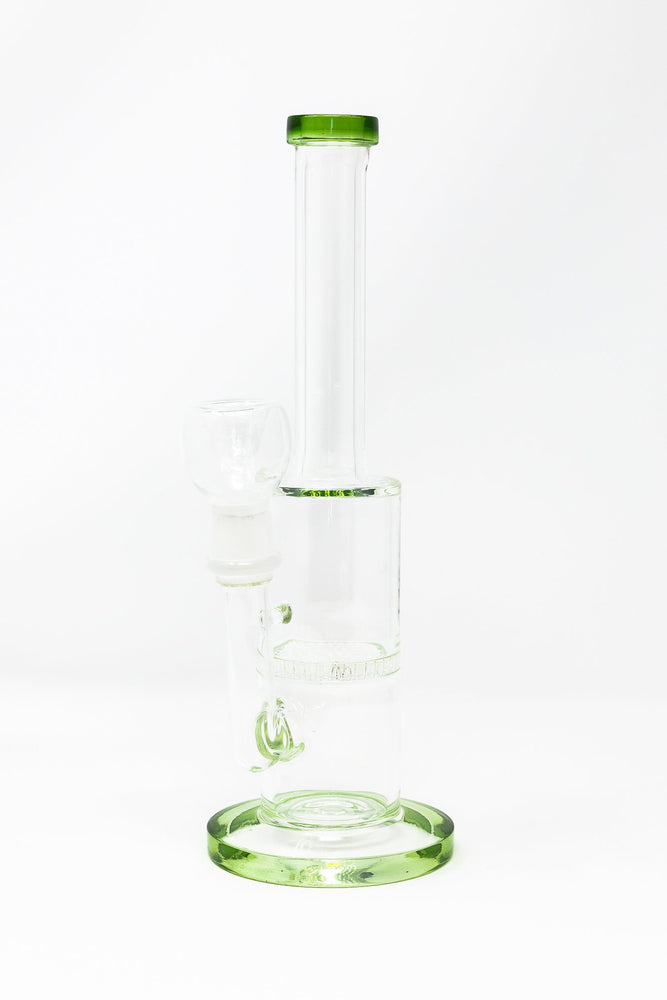 "Light Gray 10"" Water Pipe Bong w/ Honeycomb Percolator Smoking Pipe StonedGenie.com Bong"