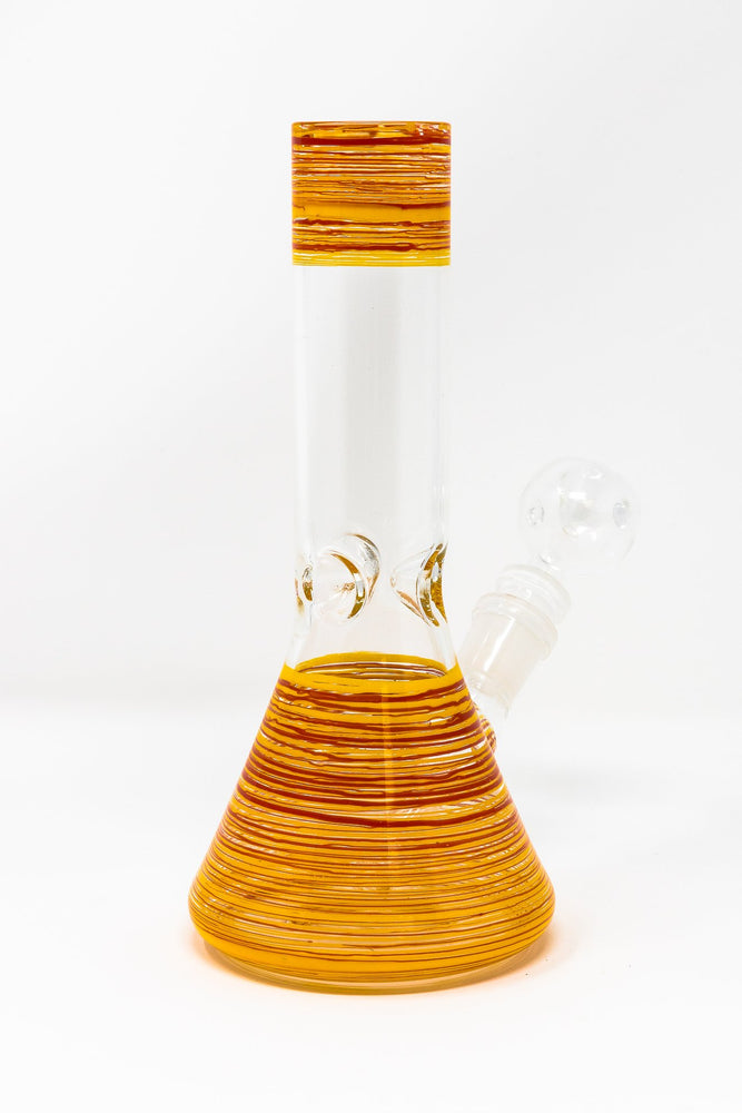 8 inch Designer Water Pipe Heavy Glass Bong Smoking Pipe