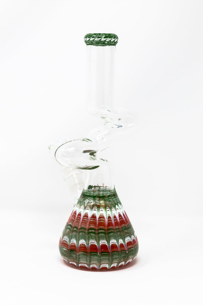 "10"" Glass Watermelon Designer Zong"