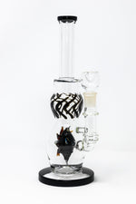 "12"" Thick Glass Sea Urchin Bong"