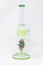 "Black 12"" Thick Glass Sea Urchin Bong StonedGenie.com Bong"