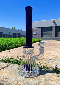10 inch Twisted Base Water Pipe Bong