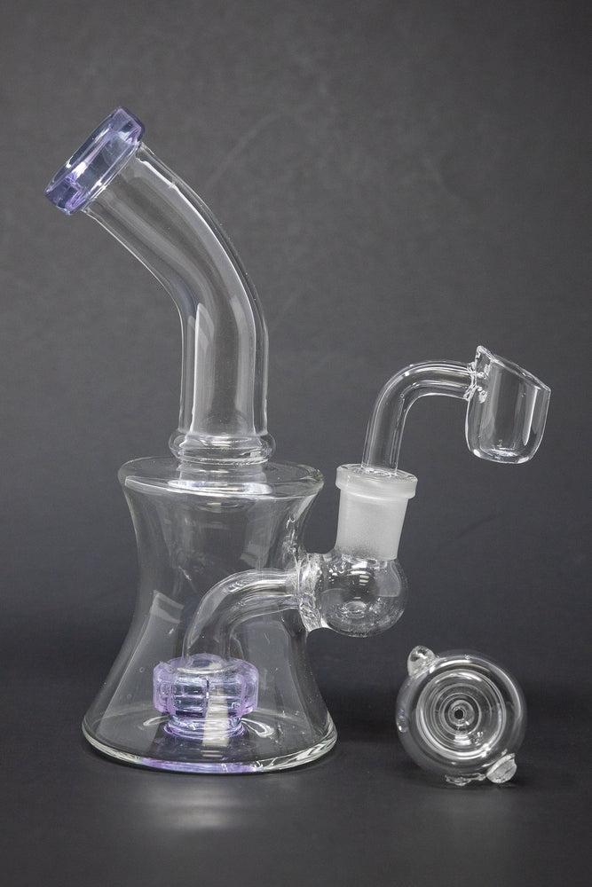 "6"" Classic Shower Bend Dab Rig"