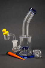 "7"" Stoned Genie Dab Rig Combo Set"
