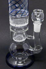 "Beige 16"" Thick Bubble Bottom Honeycomb Bong StonedGenie.com Bong"