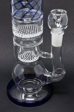 "Gray 16"" Thick Bubble Bottom Honeycomb Bong StonedGenie.com Bong"