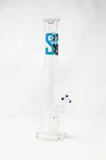 "Light Sea Green 16"" Stoned Genie Classic Thick Glass Straight Shooter w/ Ice Catcher StonedGenie.com Bong"
