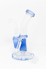 "8"" Long Conical Percolator Shower Bend Dab Rig"