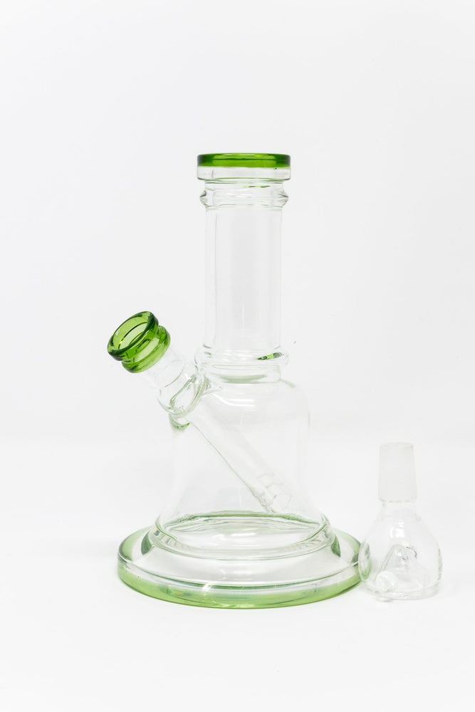 "Light Gray 6"" Bell Shaped Bong StonedGenie.com Bong"