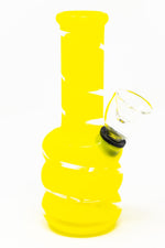 "5"" Yellow Mini Bong w/ Carb Hole"