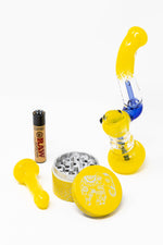 Yellow Bubbler Stoner Combo