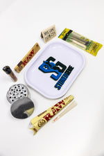 Dark Slate Blue Stoned Genie Rolling Tray Combo Set StonedGenie.com Accessories
