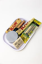 Gray Stoned Genie Rolling Tray Combo Set
