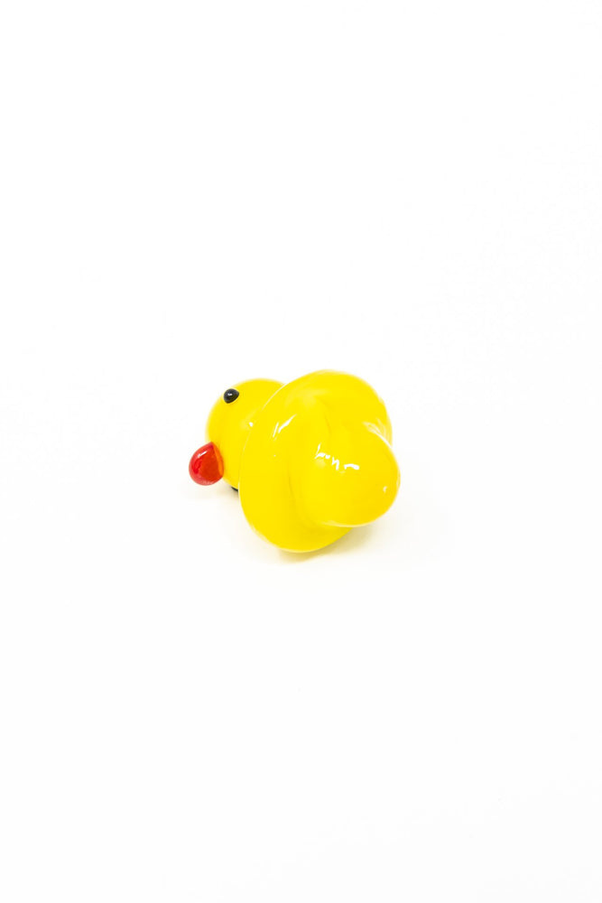 Gold Rubber Duck Glass Carb Cap