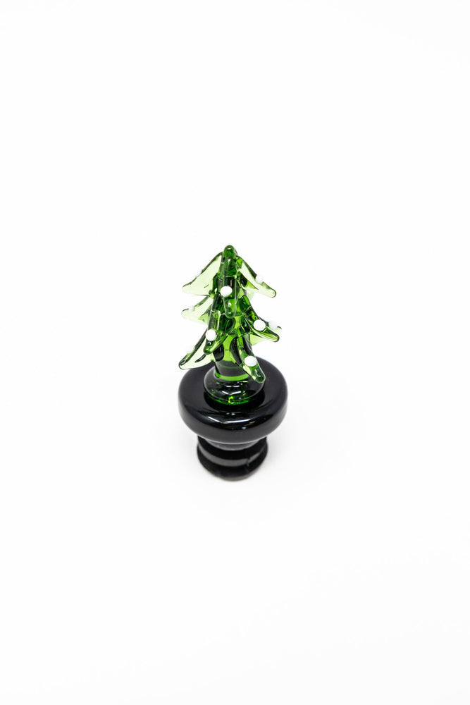 Dark Olive Green Christmas Tree Dab Cap StonedGenie.com Accessories