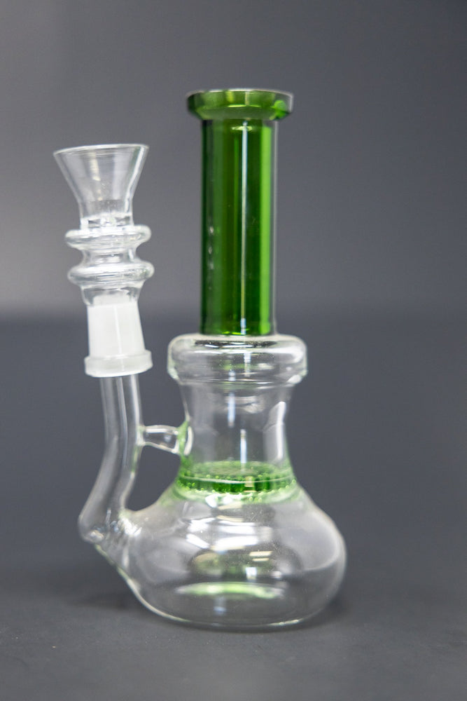 Dark Green 14mm female Bowl - 2 pc set StonedGenie.com Accessories