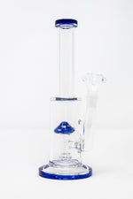 "Midnight Blue 10"" Mushroom Percolator Bong StonedGenie.com Bong"
