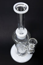 "10"" Flat Base Skinny Neck Bong"