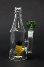 "Dark Slate Gray 6"" Pineapple Bottle Bong StonedGenie.com Bong"