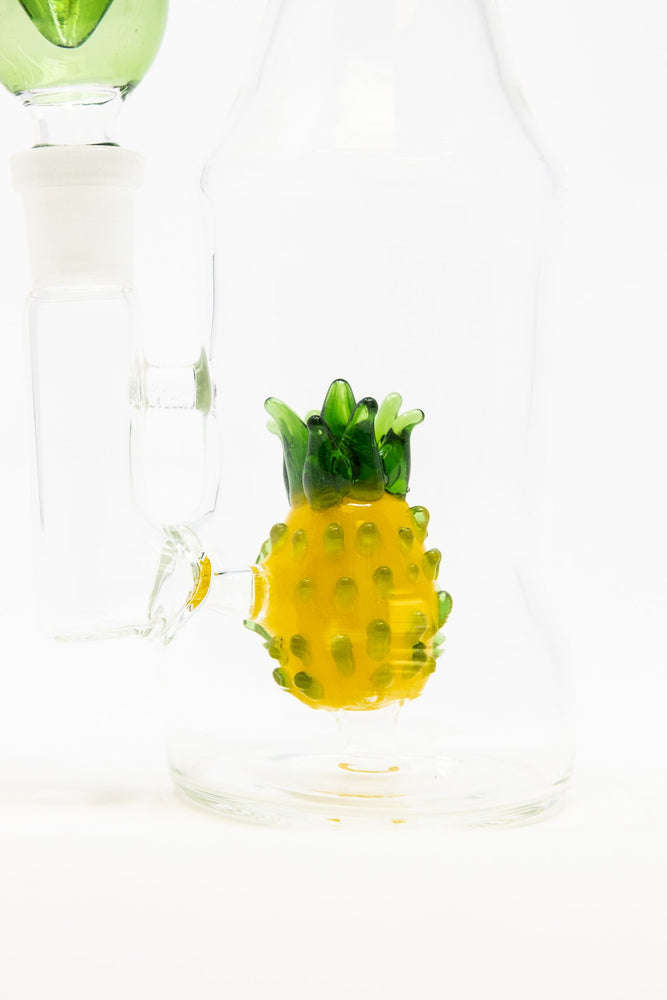 "Gold 6"" Pineapple Bottle Bong StonedGenie.com Bong"