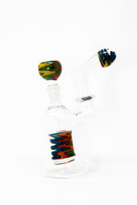 "6"" Zig Zag Bubbler w/ Pull Out Bowl"