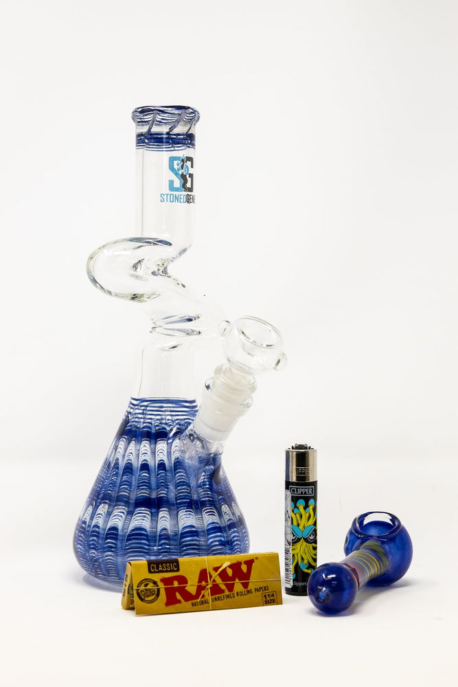 Stoned Genie Blue Zong Combo Set