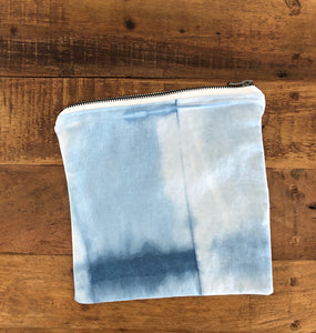Indigo Shibori Canvas Bag (#4)