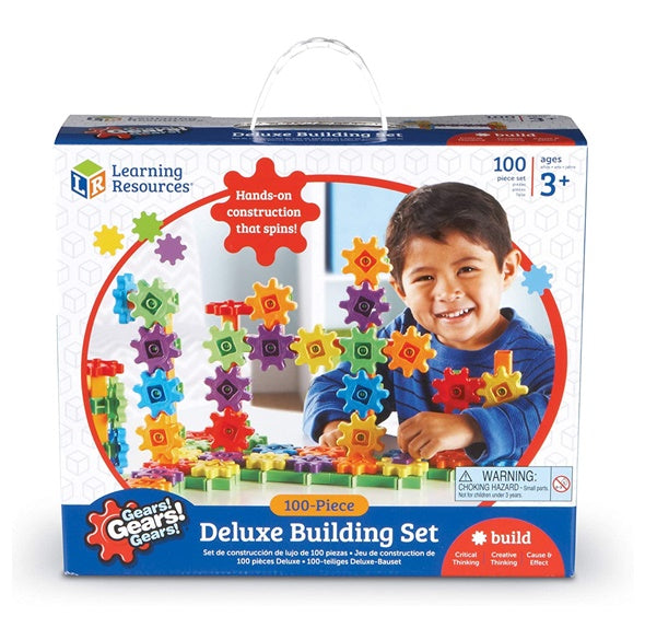 Gears! Gears! Gears! Deluxe Building Set, 100 pieces ⚙️齒輪積木 100件套裝