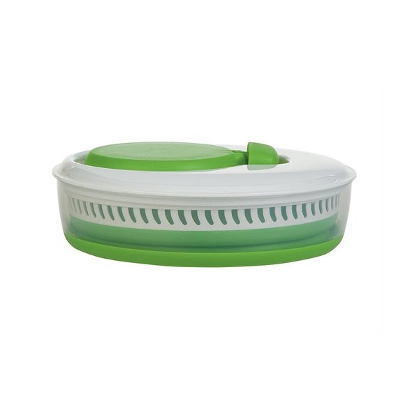 Collapsible Salad Spinner 可伸縮摺疊矽膠鋅盤筲箕