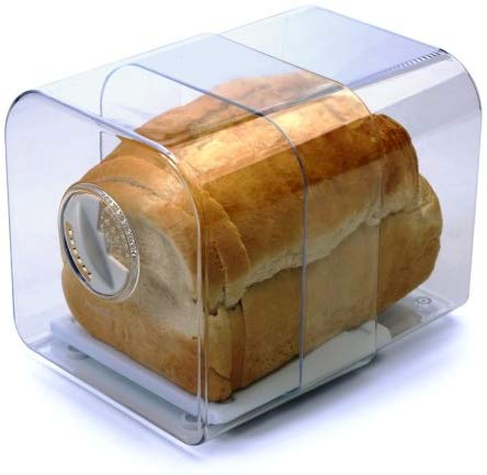 Expandable Bread Keeper with Adjustable Air Vent  伸縮麵包存放箱連砧板