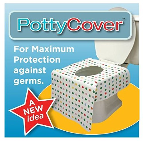 PottyCover Disposable Toilet Seat Covers 超大覆蓋防水拋棄式馬桶座墊紙