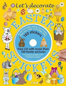 【Last One】Let's Decorate Easter Stickers Book Set