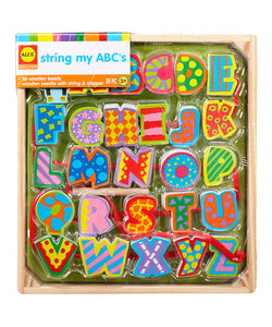String My ABC's Wood Letter Toy Set