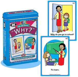 Question and answer cards