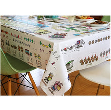 Load image into Gallery viewer, Children's Tablecloth, Mostly Math, Pre-k and kindergarten level 多用途數學檯布