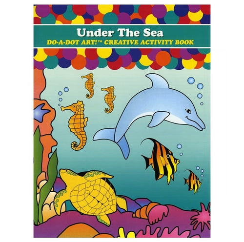 Do A Dot Art Activity Book - Under the sea 海綿頭顏色筆專用畫冊